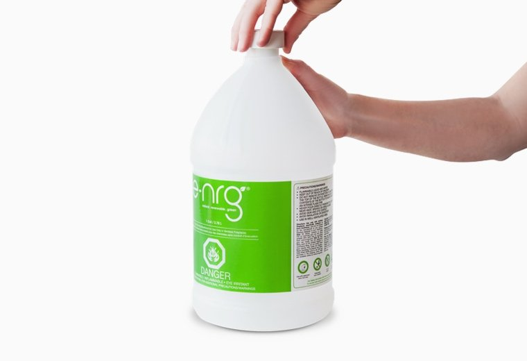 Remove the cap from your e-NRG Bottle